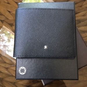 NWT Montblanc wallet never used in original box